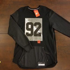 Nike Men's Air 92 Crewneck Long Sleeve Sweatshirt